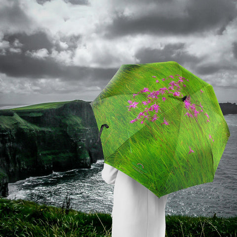 Umbrellas - Ragged Robin in a County Kerry Meadow Umbrella Moods of Ireland