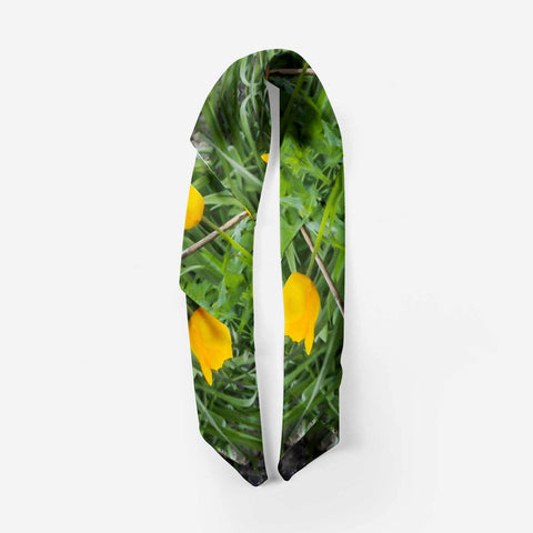 Scarves - Dancing Tulips Scarf Moods of Ireland