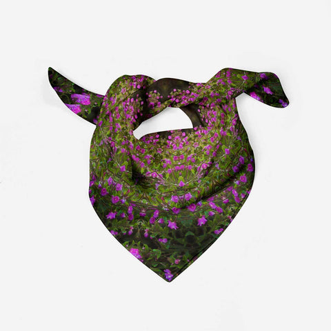 Image of Scarves - Herb Robert Merry-Go-Round Scarf Moods of Ireland