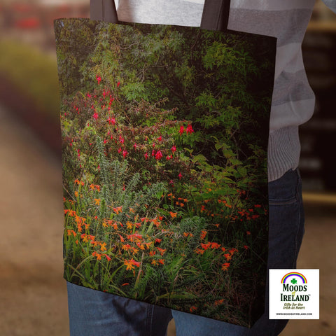 Image of Tote Bags - Irish Summer Wildflowers Tote Bag Moods of Ireland