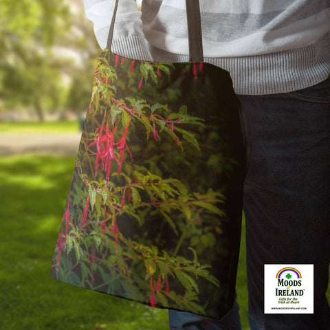 Image of Tote Bags - Wild Irish Fuchsias Tote Bag Moods of Ireland