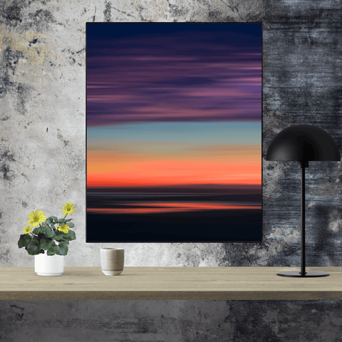 Print - Abstract Irish Sunrise 1 - James A. Truett - Moods of Ireland - Irish Art