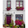 Puzzle - Flower Adorned Homefront in Kinvara, County Galway - James A. Truett - Moods of Ireland - Irish Art