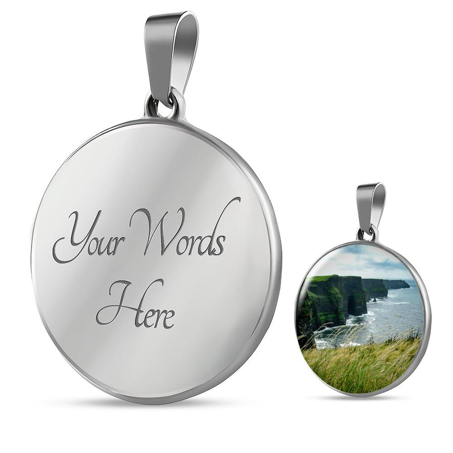 Pendant - Cliffs of Moher, County Clare Jewelry ShineOn Fulfillment