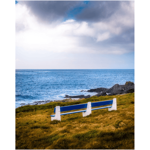 Print - Kilkee Bench along Wild Atlantic, County Clare - James A. Truett - Moods of Ireland - Irish Art