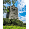 Print - Medieval Ballinalacken Castle in County Clare, Ireland - James A. Truett - Moods of Ireland - Irish Art