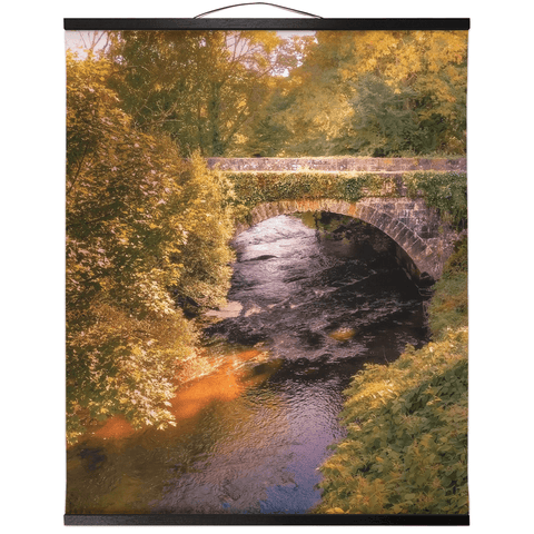 Wall Hanging - Clondegad Arched Bridge, County Clare - James A. Truett - Moods of Ireland - Irish Art