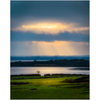 Print - Morning Sun Rays over Shannon Estuary, County Clare - James A. Truett - Moods of Ireland - Irish Art