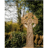 Puzzle - Celtic Cross at Dysert O'Dea Graveyard, County Clare - James A. Truett - Moods of Ireland - Irish Art