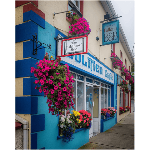 Image of Print - The Old Book Shop, Kinvara, County Galway - James A. Truett - Moods of Ireland - Irish Art