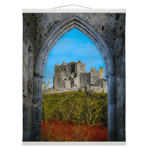 Wall Hanging - Ireland's Rock of Cashel National Monument, County Tipperary - James A. Truett - Moods of Ireland - Irish Art