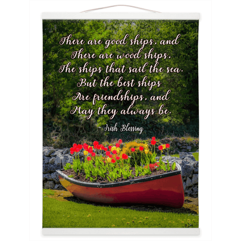 Wall Hanging - Irish Friendship Blessing - James A. Truett - Moods of Ireland - Irish Art