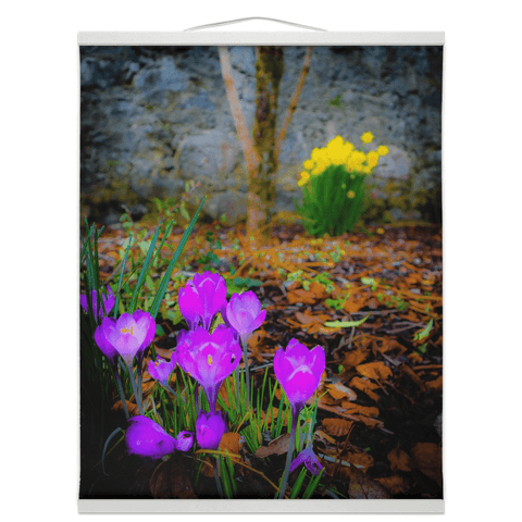 Image of Wall Hanging - Rebirth of Irish Spring Wildflowers - James A. Truett - Moods of Ireland - Irish Art