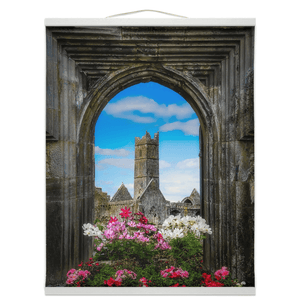 Wall Hanging - Summer at Quin Abbey, County Clare - James A. Truett - Moods of Ireland - Irish Art
