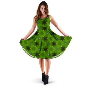 Midi Dress - Irish Spring Wildflowers Midi Dress Moods of Ireland