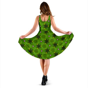 Midi Dress - Irish Spring Wildflowers