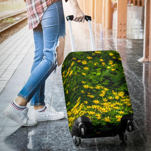 Luggage Cover - Irish Spring Meadow of Lesser Celandine Flowers Luggage Cover Moods of Ireland