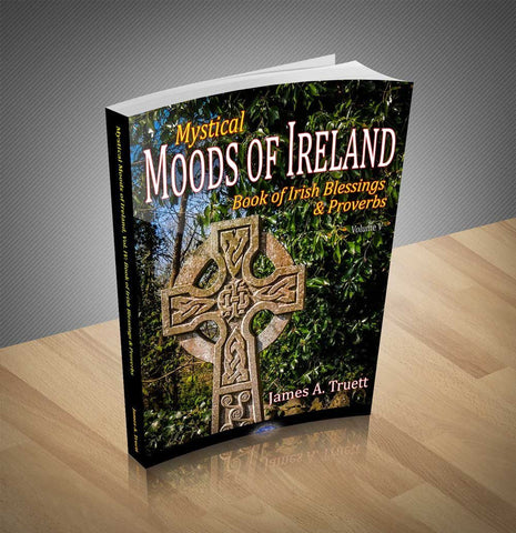 Image of Mystical Moods of Ireland, Vol. V: Book of Irish Blessings & Proverbs Book Moods of Ireland