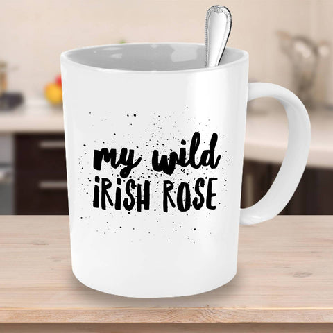 Image of My Wild Irish Rose Coffee Mug - James A. Truett - Moods of Ireland - Irish Art