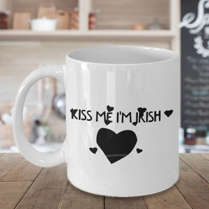 Kiss Me I'm Irish Coffee Mug - James A. Truett - Moods of Ireland - Irish Art