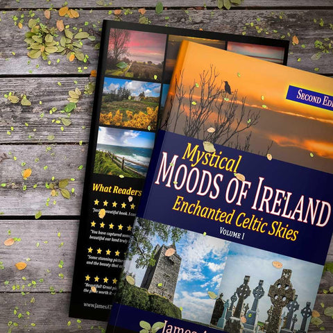 Image of Mystical Moods of Ireland, Vol I: Enchanted Celtic Skies Book 1 (Second Edition) Book Moods of Ireland