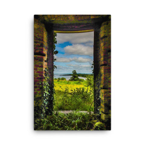 View from Paradise, Canvas Print