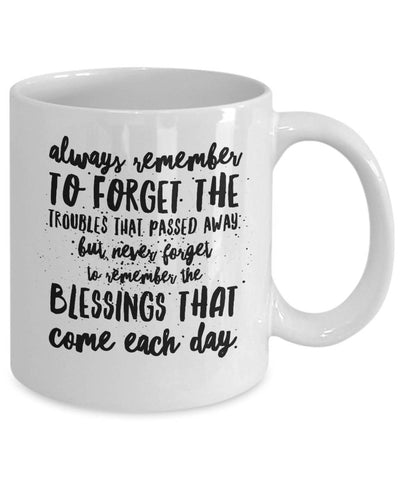 Irish Blessing Always Remember Coffee Mug Ceramic BFF Gift - James A. Truett - Moods of Ireland - Irish Art