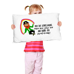 May the Leprechauns Dance Irish Blessing Pillow Case Pillowcase Moods of Ireland