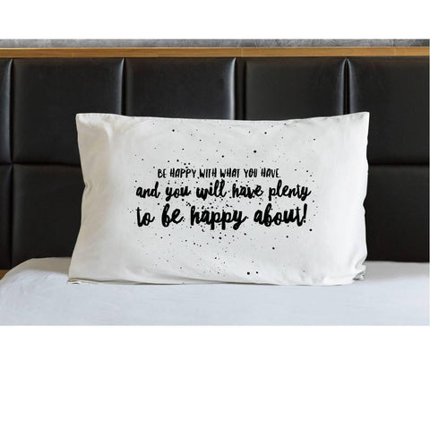 Be Happy Irish Proverb Pillow Case Pillowcase Moods of Ireland