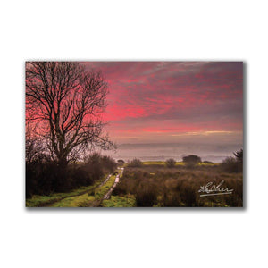 Sunrise over County Clare Ireland Poster Print Poster Moods of Ireland