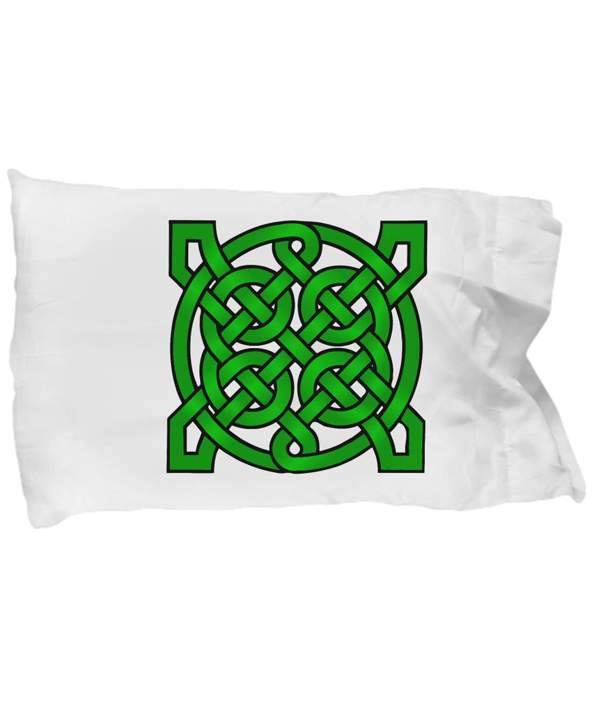 Irish Gift Celtic Mandala Pillow Case Best Friend Gift Pillowcase Moods of Ireland