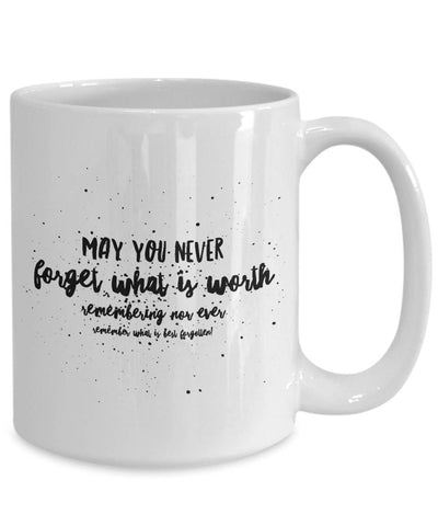 Image of Irish Blessing May You Never Forget BFF Gift Irish Gift Coffee Mug Ceramic Coffee Mug Moods of Ireland