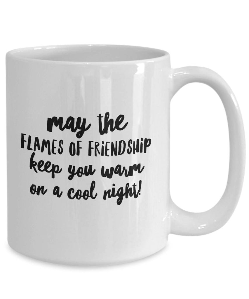 May the Flames of Friendship Irish Blessing Coffee Mug