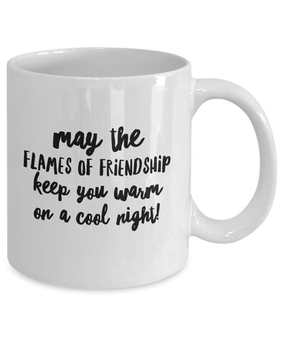 Image of May the Flames of Friendship Irish Blessing Coffee Mug Coffee Mug Moods of Ireland