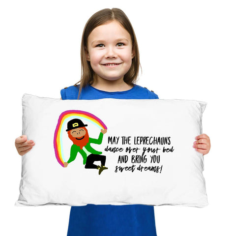 Image of May the Leprechauns Dance Irish Blessing Pillow Case Pillowcase Moods of Ireland