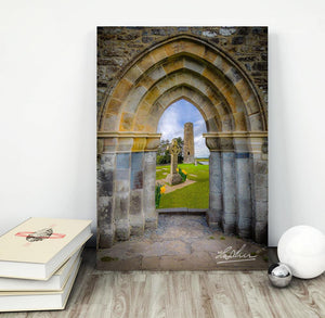 Medieval Irish Countryside, Poster Print