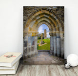 Medieval Irish Countryside, Poster Print Poster Moods of Ireland