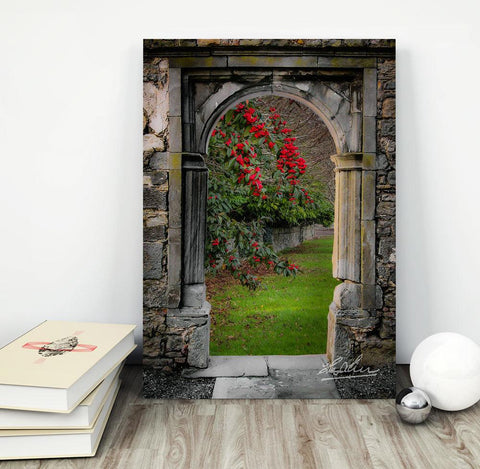 Blooming Bush in County Clare, Ireland, Mindfulness Wall Art