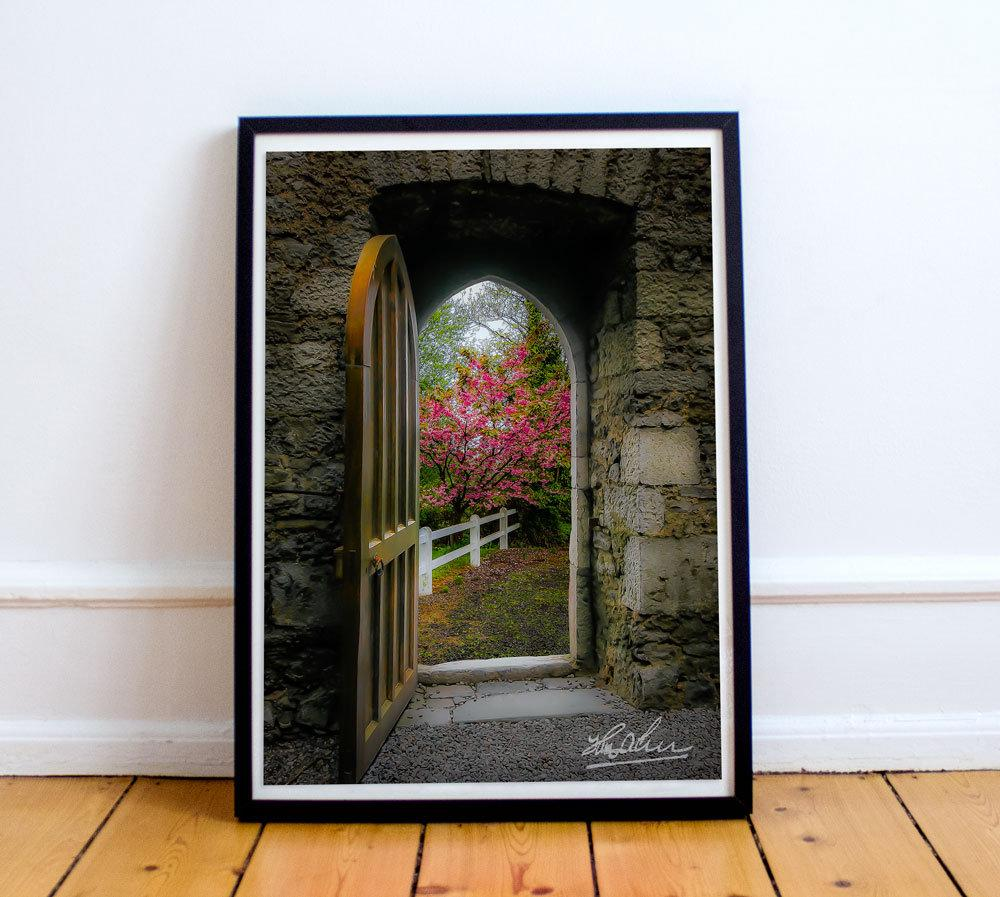 Into Irish Spring, Enchanted Art Poster Poster Moods of Ireland