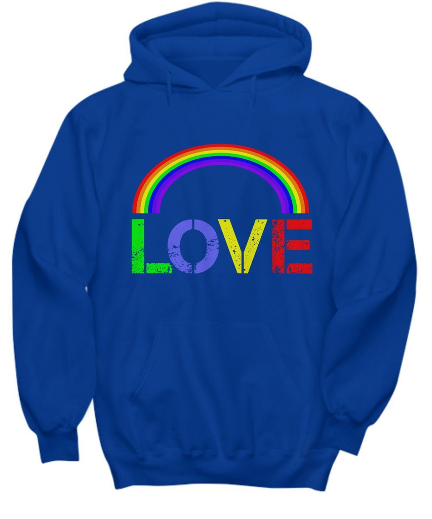 LOVE  Hoodie  LGBT  Rainbow  Pride  Love Means Love  BFF