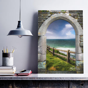 County Clare Atlantic Storm, Irish Art Poster Poster Moods of Ireland