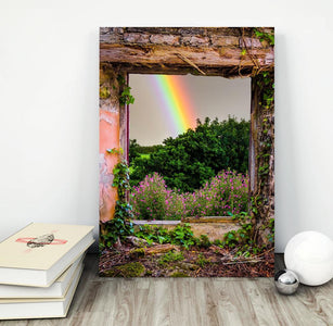 Print - Irish Rainbow in Paradise, County Clare - James A. Truett - Moods of Ireland - Irish Art