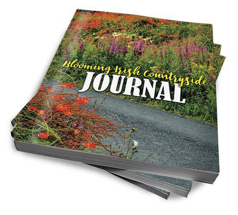 Image of Blooming Irish Countryside Journal, Diary, Notebook Journal Moods of Ireland