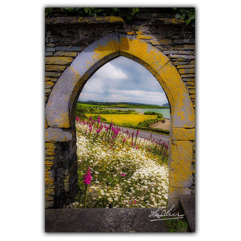 Image of Along the Shannon Estuary, Irish Poster Print Poster Moods of Ireland