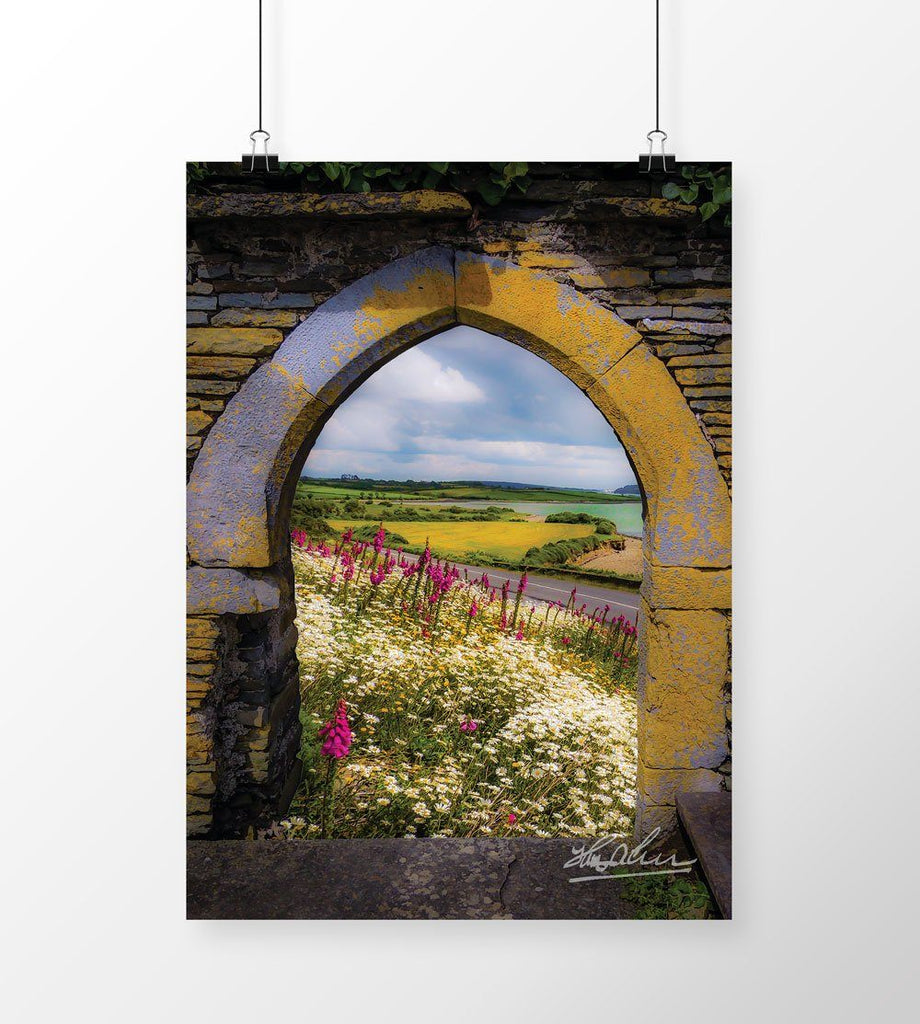 Along the Shannon Estuary, Irish Poster Print Poster Moods of Ireland