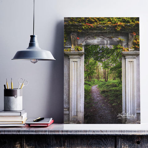 Into the County Galway Countryside, Poster, Irish Home Decor Poster Moods of Ireland