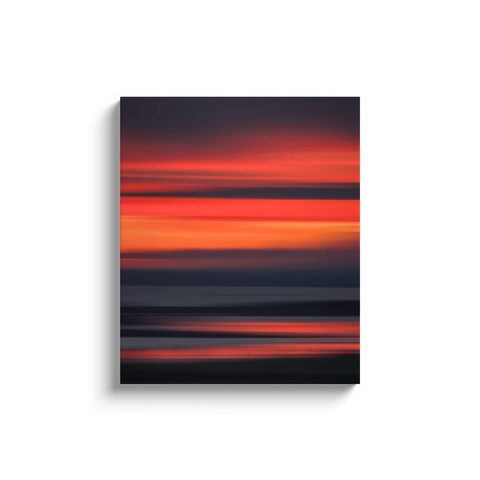 Canvas Wrap - Abstract Irish Sunrise 7 Canvas Wrap Moods of Ireland 20x24 inch