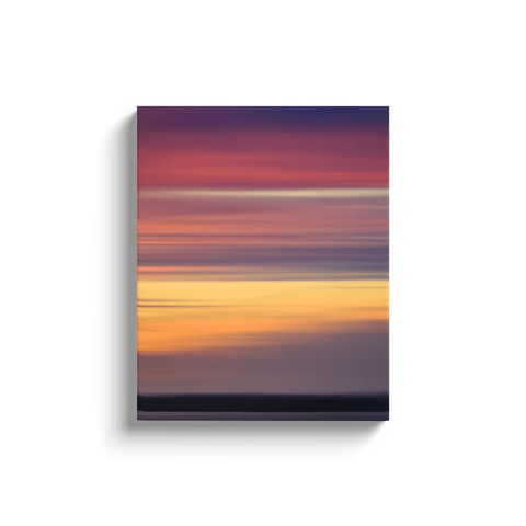 Canvas Wrap - Abstract Irish Sunrise 3 Canvas Wrap Moods of Ireland 16x20 inch