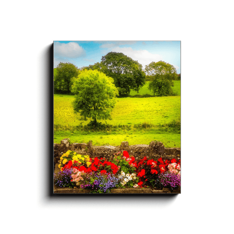Canvas Wrap - Green Meadows of Kildysart in County Clare - James A. Truett - Moods of Ireland - Irish Art
