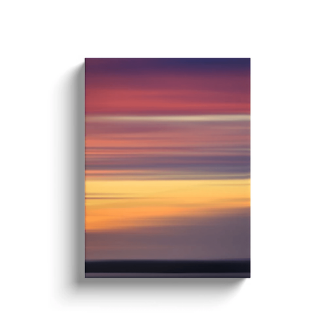 Canvas Wrap - Abstract Irish Sunrise 3 Canvas Wrap Moods of Ireland 12x16 inch